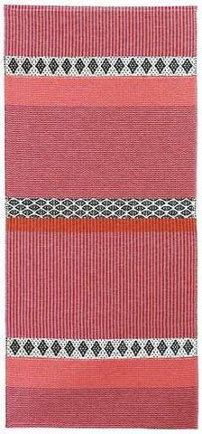 Muovimatto - Horreds mattan Savanne, pinkki
