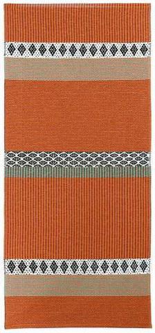 Muovimatto - Horreds mattan Savanne, oranssi