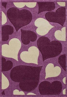 Amigo, sydän violetti