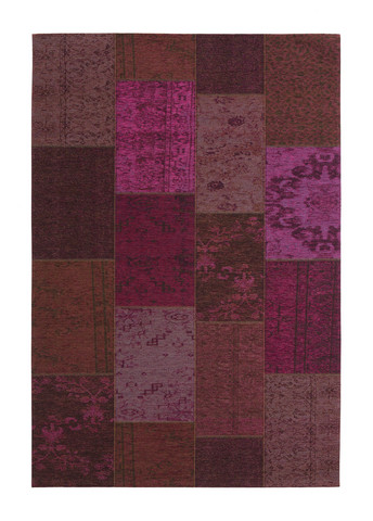 Patchwork, purple