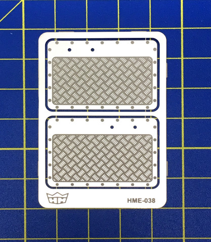 HME-038, Aluminium door panels