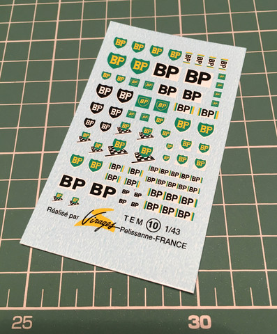 VIR-010, BP decals