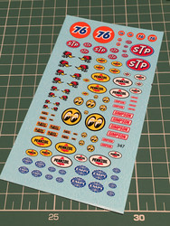 VIR-347, Various logo decals BIG