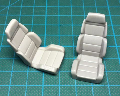 SP24255, Recaro seats