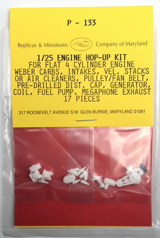 P-133, Flat 4 engine hop-up kit