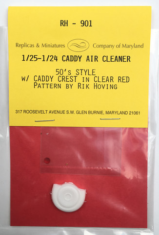 RH-901, Caddy air cleaner