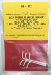 RH-912, Custom flathead headers