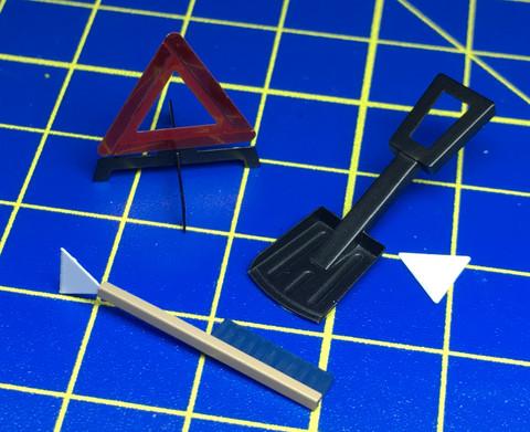 HME-045, Winter car accessories