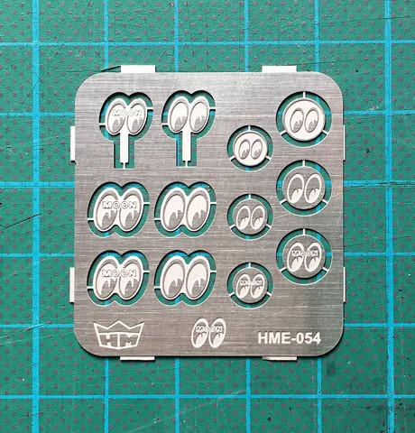 HME-054, MOONEYES bumper embles