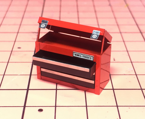 HME-059, 3 drawer tool box
