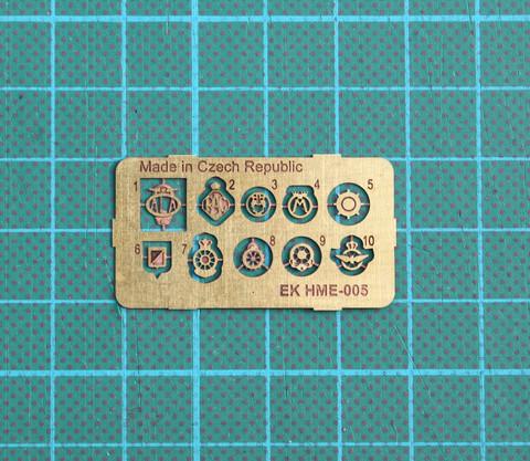 HME-005, Emblem set
