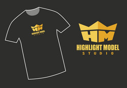 Highlight Model Studio T-shirt