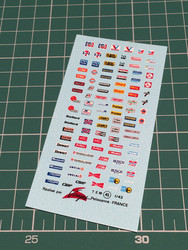 VIR-045, Various logo decals