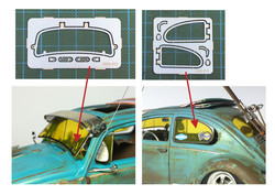 HME-019, Beetle side window frame