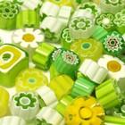 Millefiori, Vihreät sävyt, 20 g