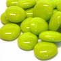 Glass Gems, 100 g, Lime Marble