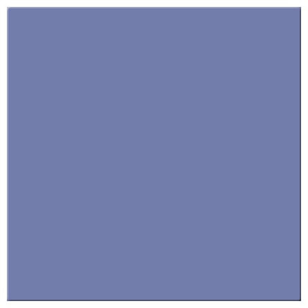 Ceramic tile, Mid Blue