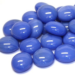 Glass Gems, 100 g, Blue Marble