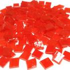 T050 Orange, läpikuultava, 1x1 cm, 200 g