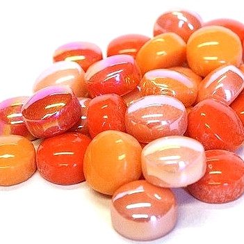 Mini Gems, Orange, 50 g