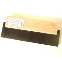 Grout rubber, 180 mm, with wooden grip