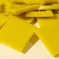 Mosaic Tiles 20 mm, Bright Yellow 500 g