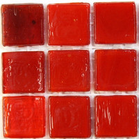 Marbled 15 mm, Blood Red, 25 tiles