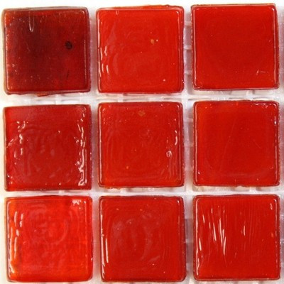 Marbled 15mm, Blood Red, 25 tiles