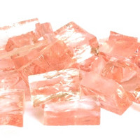 Smalti, Rose, transparent, 50 g