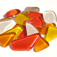 Soft Glass, Punakeltainen Mix S59, 200 g