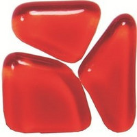 Soft Glass, Red-Orange S52, 1Kg