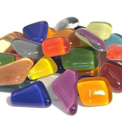 Soft Glass, Multicolour Mix S99, 1 kg