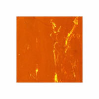 Konstspegel 5x10cm, Orange