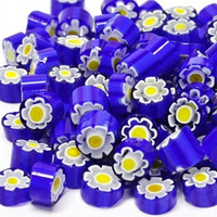 Millefiori, Blue-Yellow Flower, 20 g