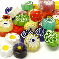 Millefiori, 11/12, transparent, 50 g