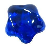 Glas Stjärna, Blå, 1 st