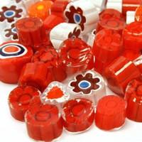 Millefiori, Red Tones, 50 g