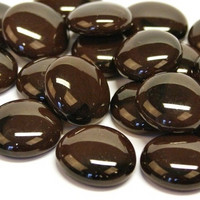 Glass Gems, 500 g, Coffee Marble