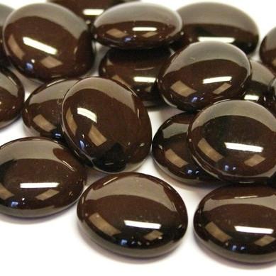Lasihelmet, 500 g, Coffee Marble