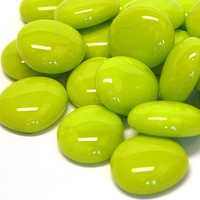 Glass Gems, 500 g, Lime Marble