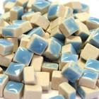 Micro Mosaic, 5x5x3 mm, Turquoise, 50 g