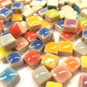 Micro Mosaic, 5x5x3 mm, Candy Mix, 50 g