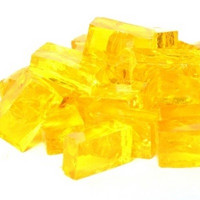 Smalti, Warm Yellow, transparent, 50 g