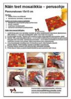 Hur man gör ett mosaikarbete, basinstruktion