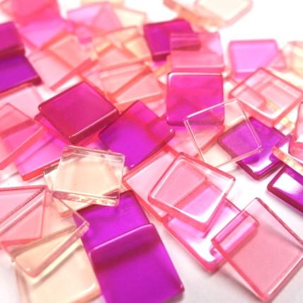Akryylimosaiikki, Pink, 50g