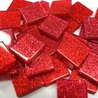 Akryl Mosaik, Glitter Bordeaux , 50 g