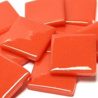Pate de Verre, Orange Red 500 g