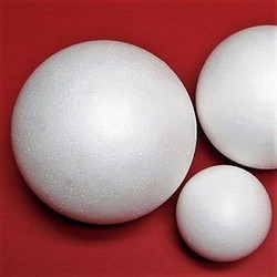Styrofoam-ball, 2 parts, 40 cm