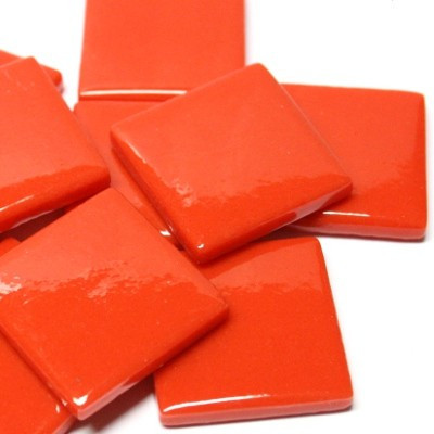 Pate de Verre, Bright Red 100 g