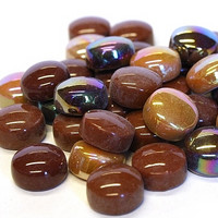 Mini Gems, Brown, 200 g, app. 135 pcs